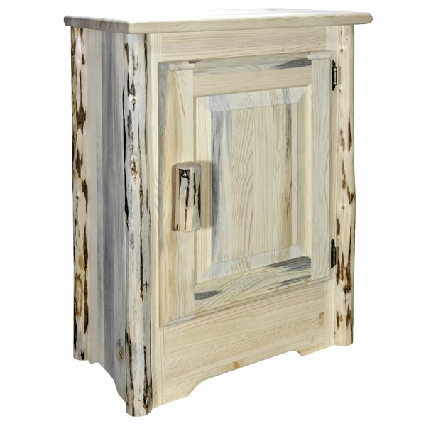 Shortwood Right Hinged 1 Door Accent Cabinet by Millwood Pines