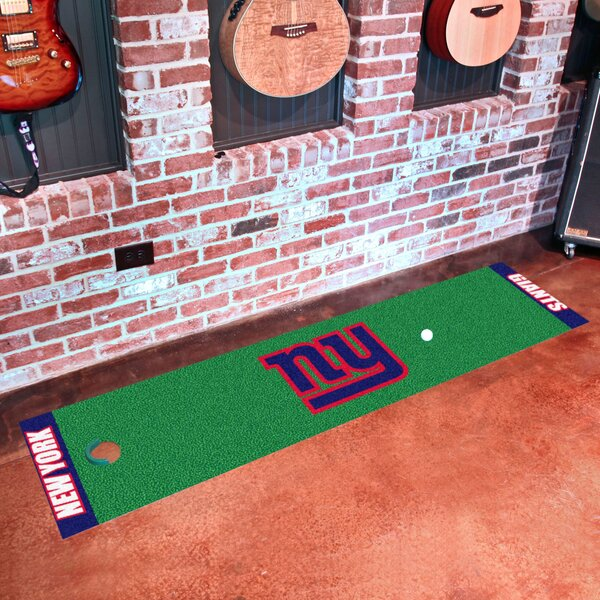 NFL New York Giants Putting Green Mat by FANMATS