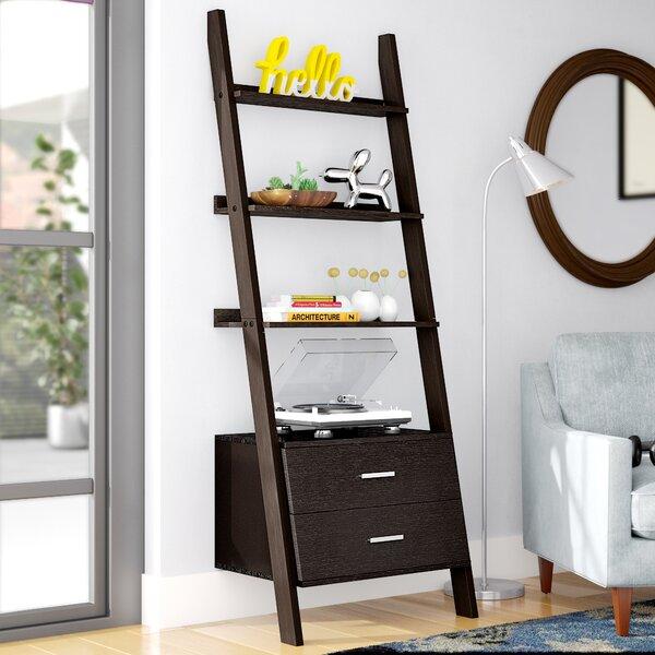 Hewitt Ladder Bookcase By Breakwater Bay