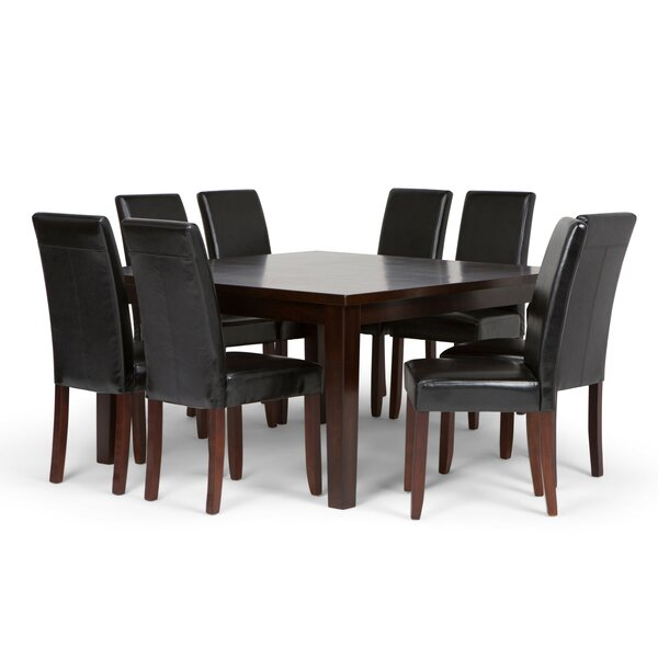 Mayna 9 Piece Dining Set by Alcott Hill