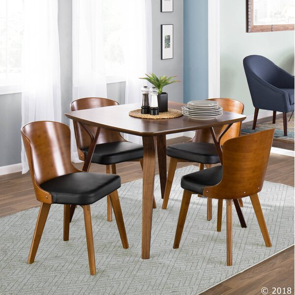 Kristofer Upholstered Dining Chair by George Oliver
