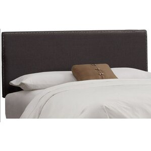 Marion Linen Upholstered Headboard by Skyline Furniture