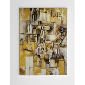 The Pigeon with Green Peas by Pablo Picasso Painting Print on Wrapped Canvas by Wexford Home