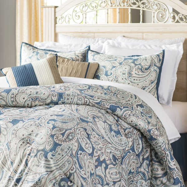 Bridgnorth 7 Piece Comforter Set by Three Posts