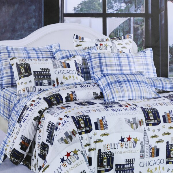 Summy 4 Piece Duvet Cover Set by Red Barrel Studio