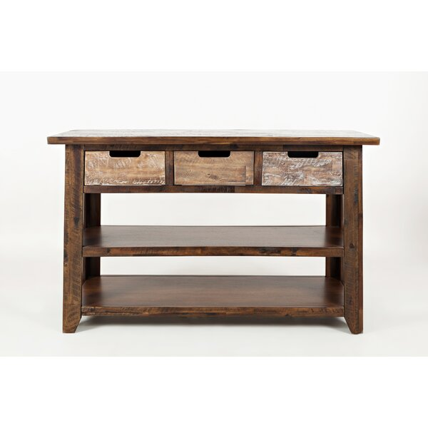 Brendon Wooden Console Table by Millwood Pines