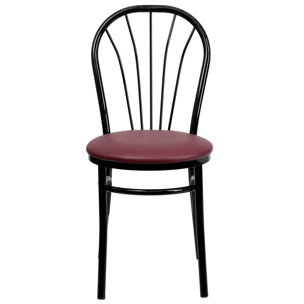 Chafin Fan Back Metal Chair by Winston Porter