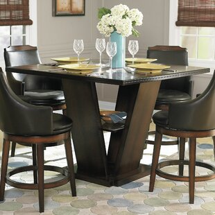 Allenville Counter Height Dining Table & High Top Dining Table Set | Wayfair