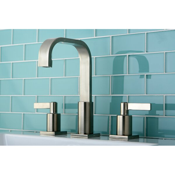 Continental Widespread Bathroom Faucet with Drain Assembly by Kingston Brass