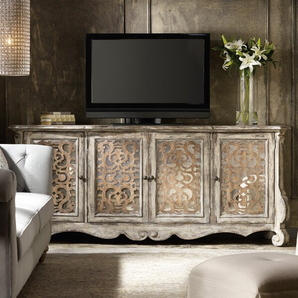 Four Door Credenza by Hooker Furniture