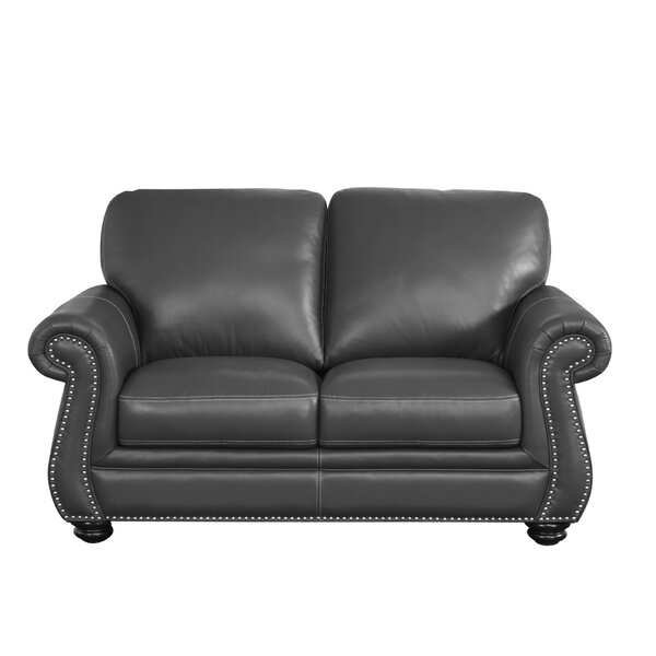 Darby Home Co Leather Loveseats