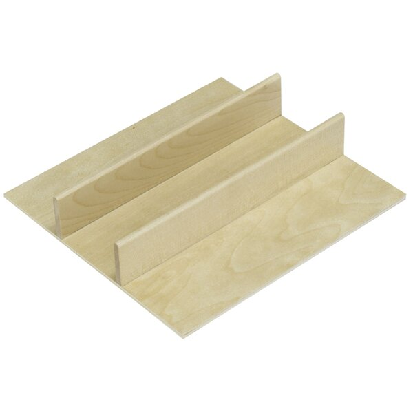 3H x 8.5625W x 9.125D Drawer Organizer by Ornamental Mouldings