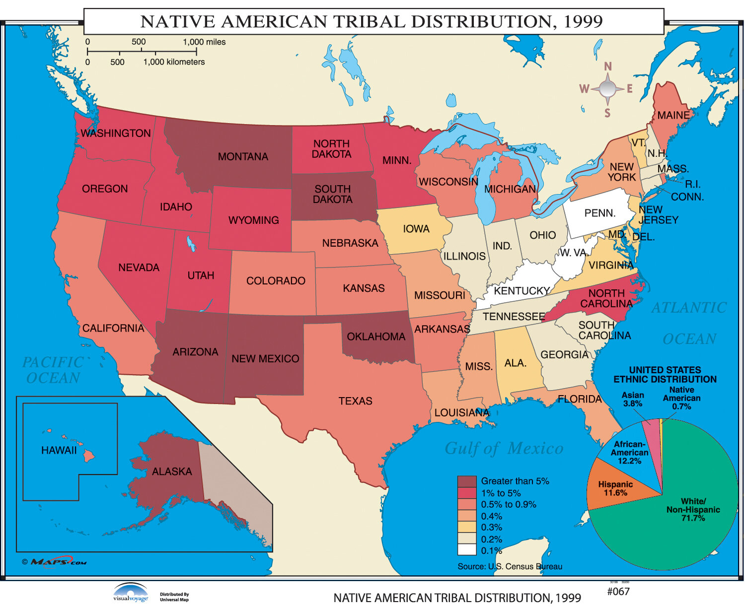 universal map us history wall maps native american tribal distribution wayfair