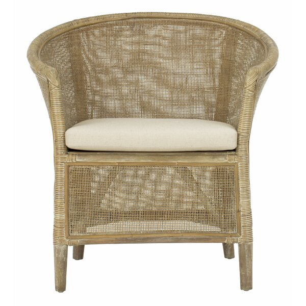Dillon Rattan Barrel Chair by Bay Isle Home