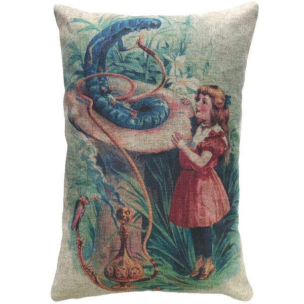 Willets Alice Linen Throw Pillow by Winston Porter