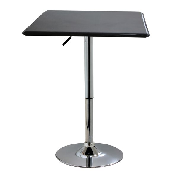 Heriberto Adjustable Pub Table by Ebern Designs