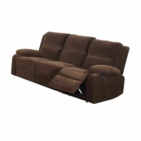 Garduno Leatherette Motion Reclining Sofa By Red Barrel Studio