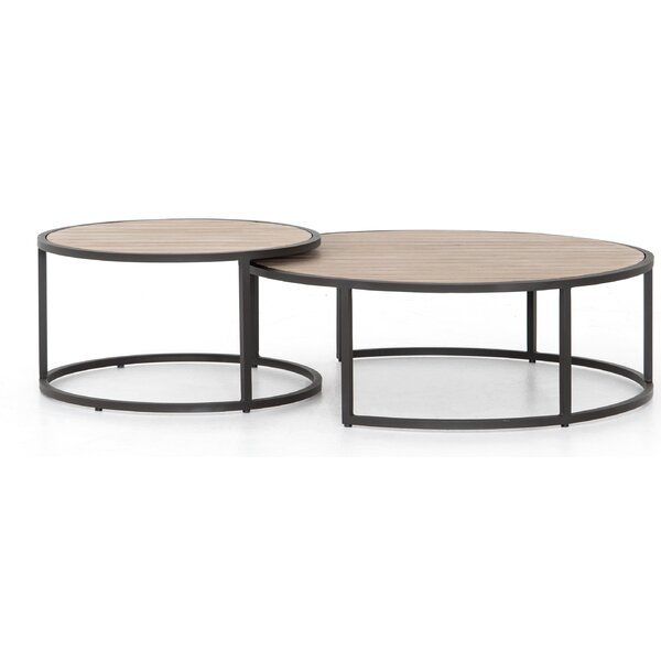 Franko 2 Piece Coffee Table Set by Bungalow Rose