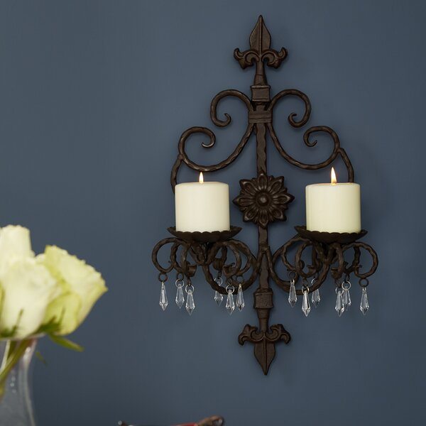 Wall Sconce by Fleur De Lis Living
