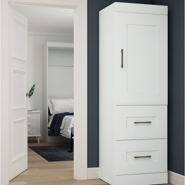 St. Mark inchs Place Storage 25 inch W Closet System Armoire by Latitude Run