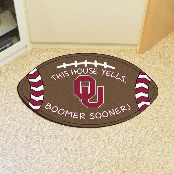 NCAA Oklahoma Southern Football Doormat by FANMATS