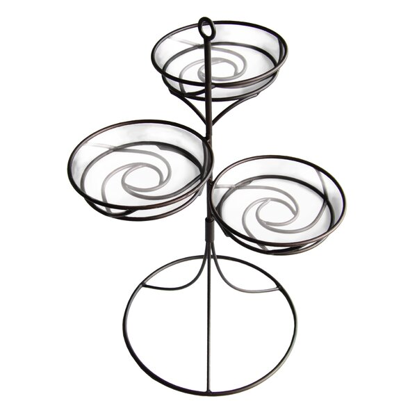 Triple Plant Stand by Plastec