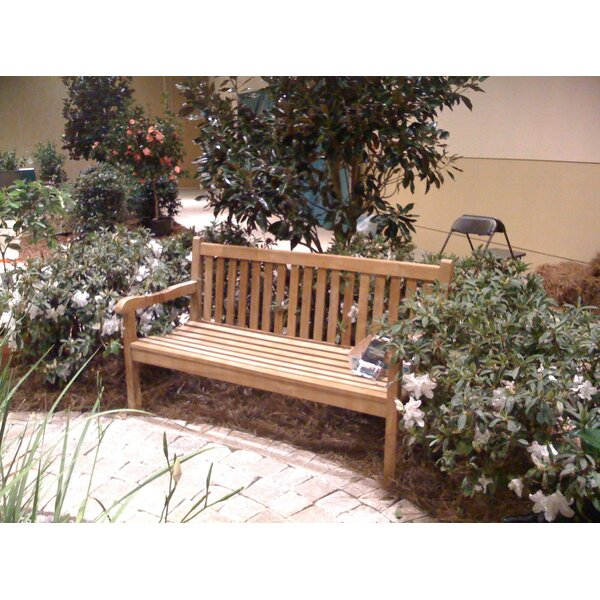Quinlan Teak Garden Bench by Darby Home Co Darby Home Co