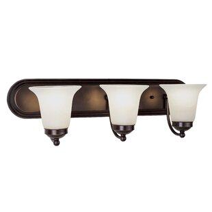 Online Reviews Lowville 3-Light Vanity Light By Charlton Home