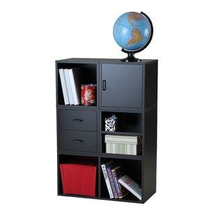 Fowler Storage Cube Unit Bookcase by Rebrilliant