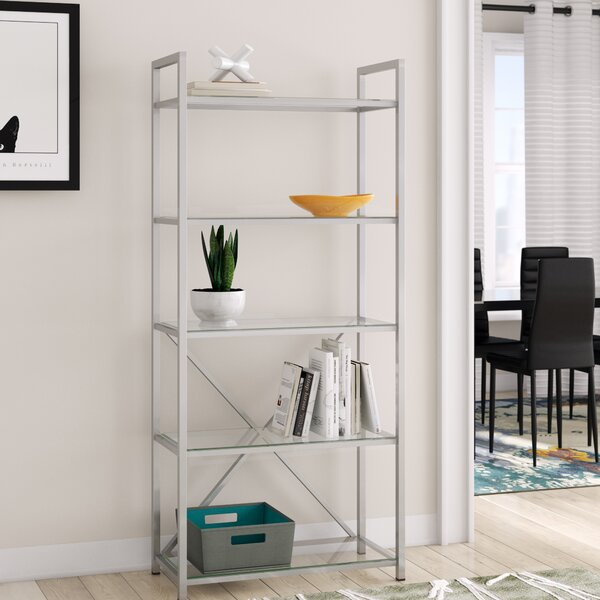 Delreal Etagere Bookcase by Ebern Designs