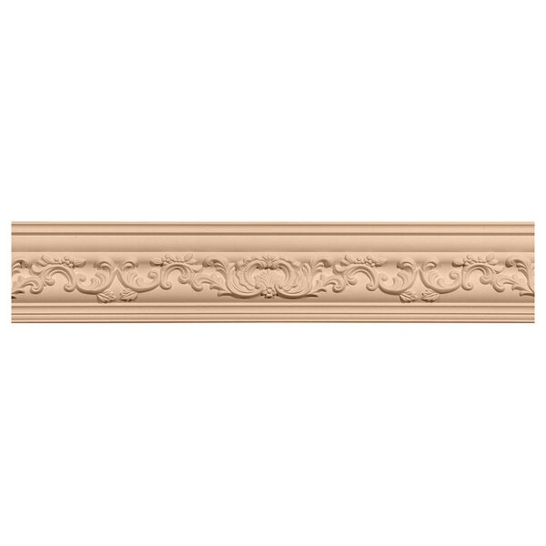 Medway 4 3/4H x 96W x 4 7/8D Carved Wood Crown Moulding by Ekena Millwork