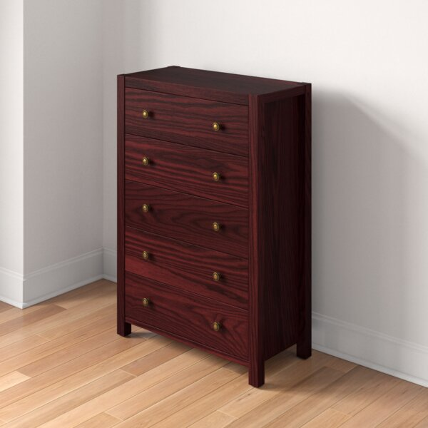 Lake City Utility 5 Drawer Chest by Three Posts Teen