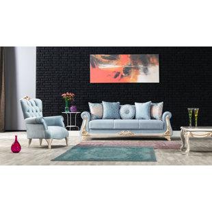 Rothschild 3 Piece Sleeper Living Room Set by Rosdorf Park