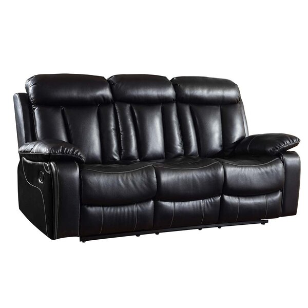 Ullery Upholstered Living Room Recliner Reclining Sofa by Winston Porter