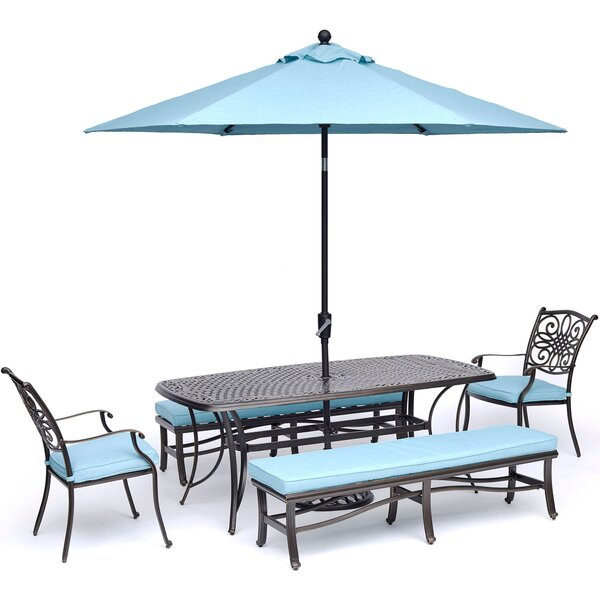 Irie Traditions 5 Piece Dining Set by Astoria Grand
