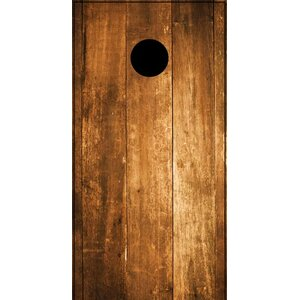 Stained Wood Cornhole Board