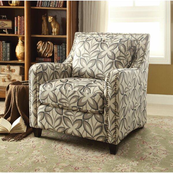 Clayton Pattern Accent Armchair by Brayden Studio