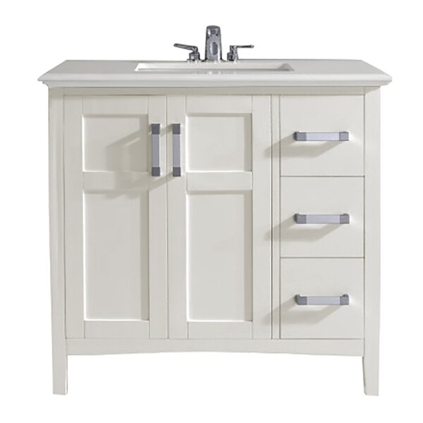 Winston 37 Single Bathroom Vanity Set by Simpli Home