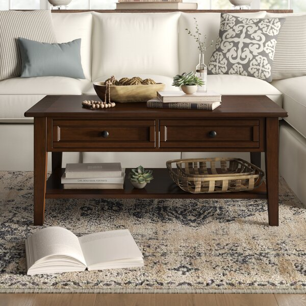 Erica Coffee Table with Storage by Birch Lane Heritage Birch Lane™ Heritage