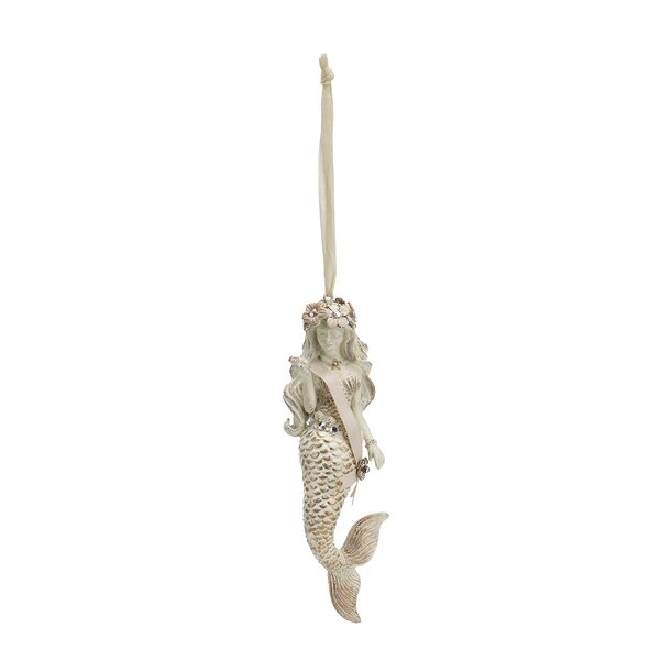 Mermaid Hanging Figurine by The Holiday Aisle