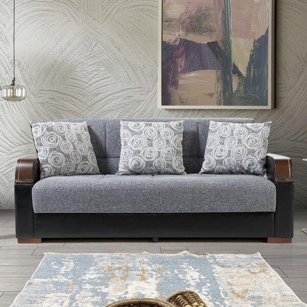 Misenheimer 85'' Square Arm Sofa Bed by Latitude Run Latitude Run