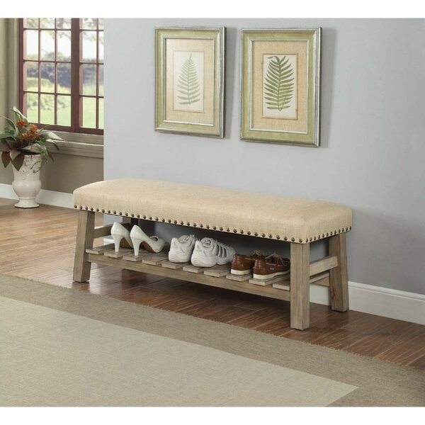 Ally Upholstered Storage Bench by Millwood Pines