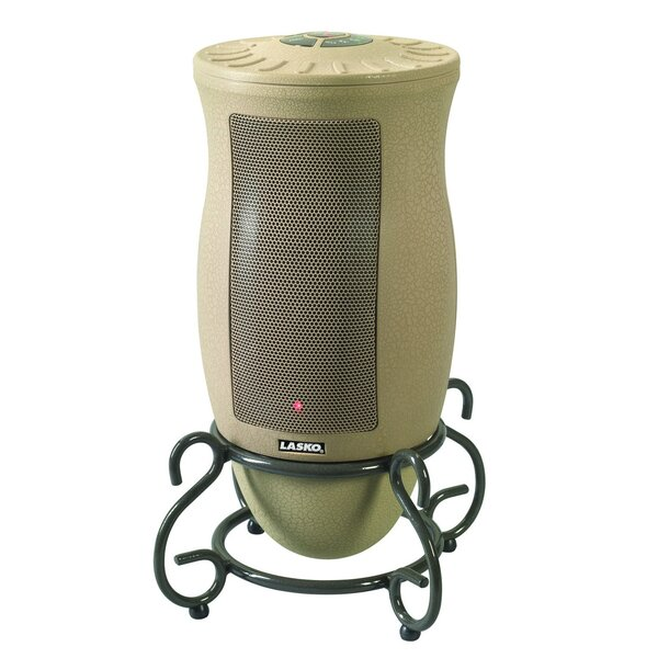 Designer Series 5,118 BTU Electric Tower Heater with Remote Control by Lasko