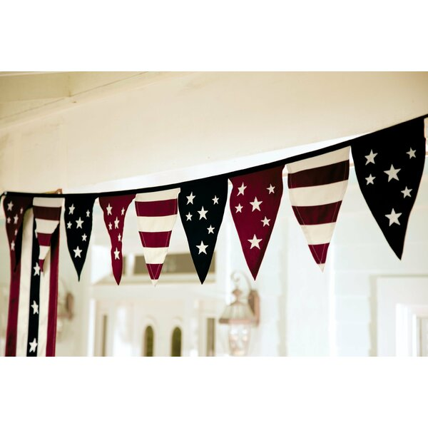 Stars and Stripes Americana Pennant by Plow & Hearth
