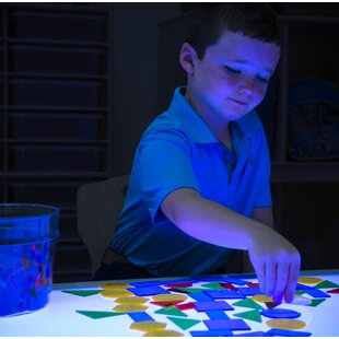 Hwang Brilliant Light Activity Table ByZoomie Kids