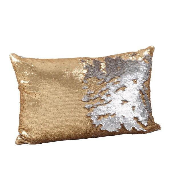Sequin Mermaid Lumbar Pillow by Saro