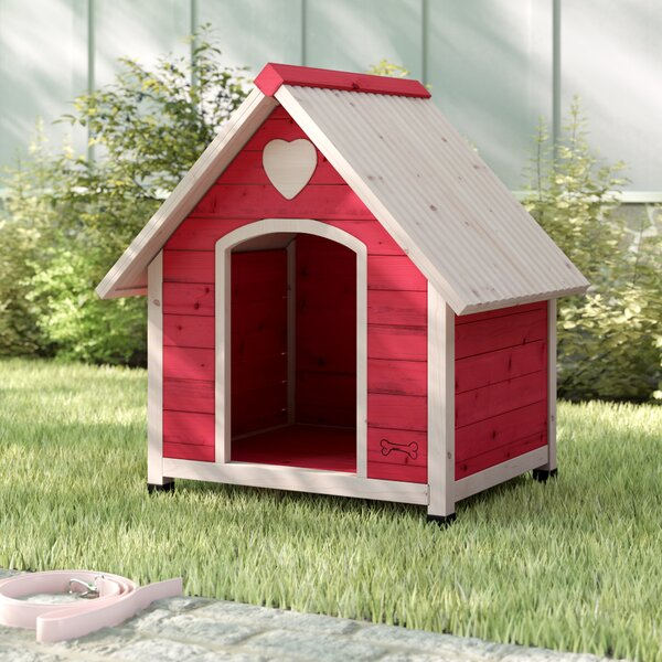 Balto Dog House in Pink by Archie & Oscar