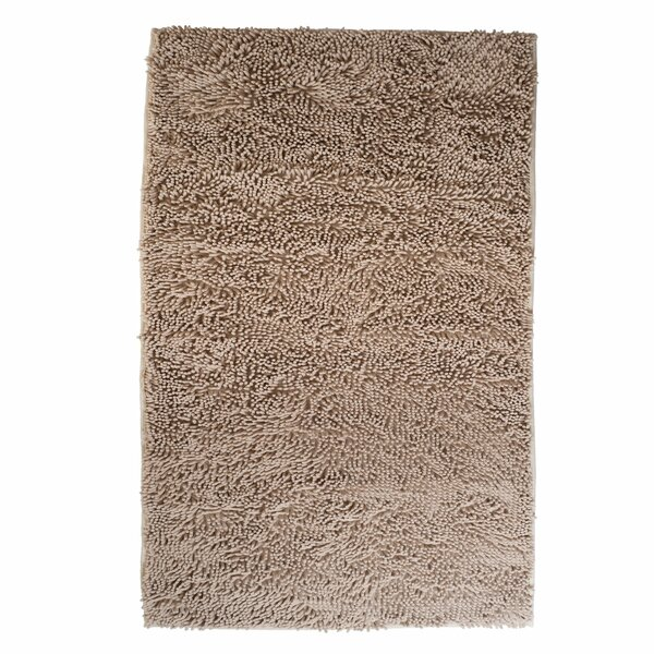 High Pile Ivory Solid Area Rug by Lavish Home