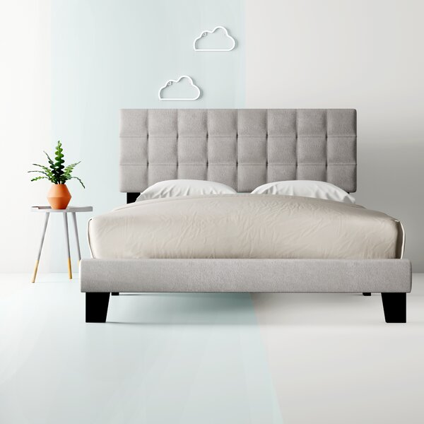 Cynthia Upholstered Standard Bed by Hashtag Home