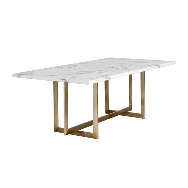 Distefano Dining Table by Everly Quinn Everly Quinn